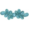 Motif Sequin 20.5x7cm turquoise with matching Centre Stone